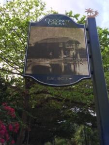 Coconut Grove sign