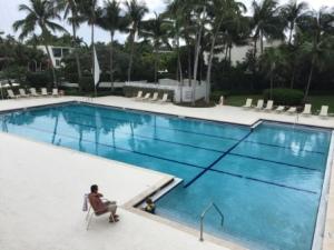 John & JJ in pool at Sunset Harbor