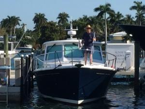 Washing the boat - SHYC