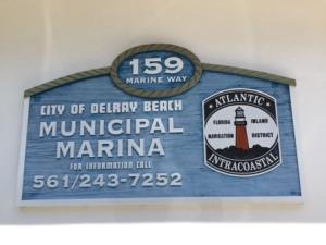 Marina Sign