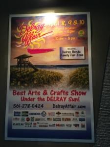 Delray Affair sign