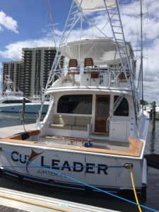 Copper Leader - Greg's boat