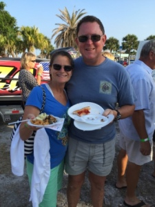 "At ""Taste of St. Lucie"""