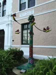 Tree Sculpture near City Hall