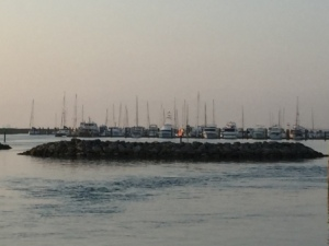 Breakwater/wingdams near Ft. Pierce City Marina