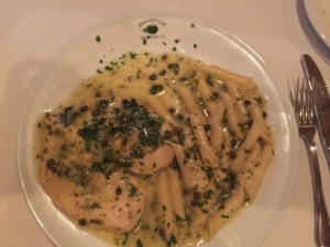 Chicken Picatta at Pomodoro Grill - Trattoria