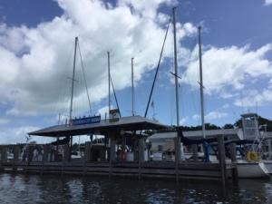 City Marina fuel dock