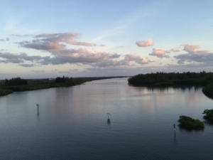 ICW from bridge