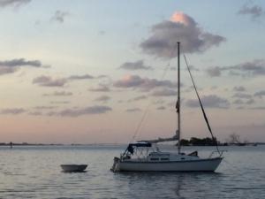 Noel's boat