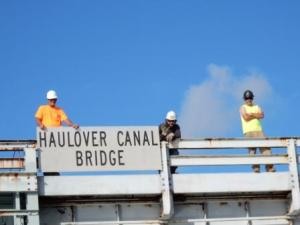 Canal Bridge Workers