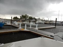 Bad weather coming - Amelia Island Marina