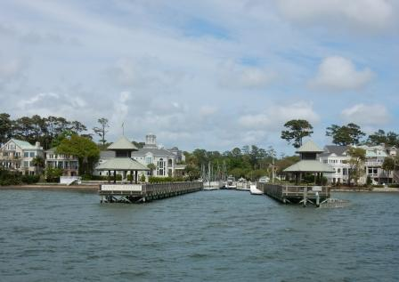 Entering WIndmill Harbor Marina