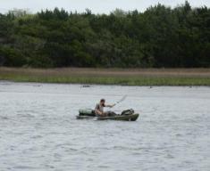 Kayaker near Beaufort, SC