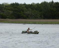 Kayaker near Beaufort, SC