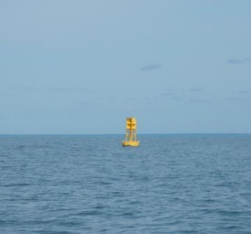 Camp Lejeune restricted area buoy