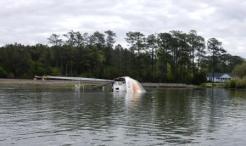Derelict Boat in Core Creek