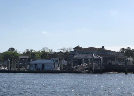 Fernandina Beach Marina - Docks being repaired