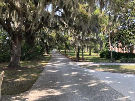 Bike Path through Historic District