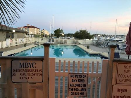 Myrtle Beach Yacht Club pool