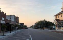Front Street at Sunrise