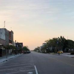 Front Street at Sunrise