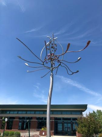 Spider Lily Sculpture near Covention Center