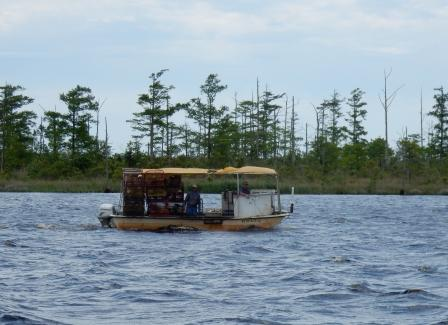 Crabber on Alligator River
