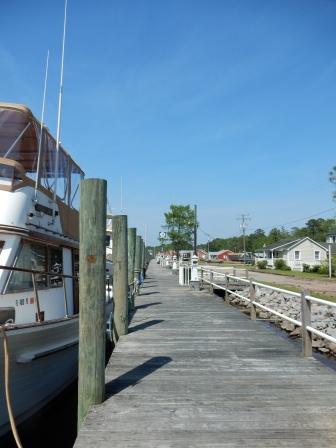 Coinjock dock