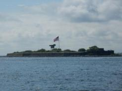Passing Fort Wool