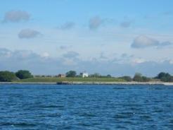 Passing Fort Monroe
