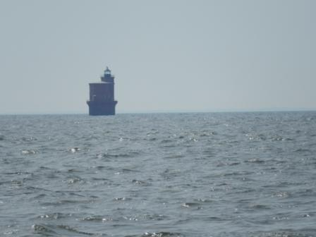 Wolf Trap Lighthouse on the Chesapeake Bay