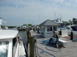 Mark fueling IO at Herrington Harbor South