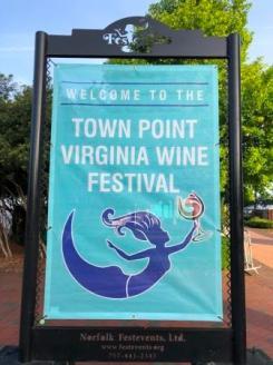 Poster for wine festival