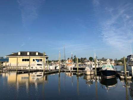 Whitehouse Cove Marina in the morning