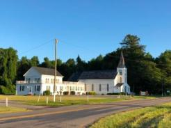 Baptist Church on highway