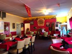 Inside Backdraft restaurant