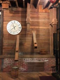 Original Mill wall at Cafe Sado
