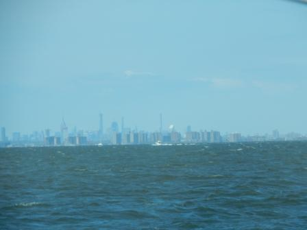 NYC Skyline from 20 miles out
