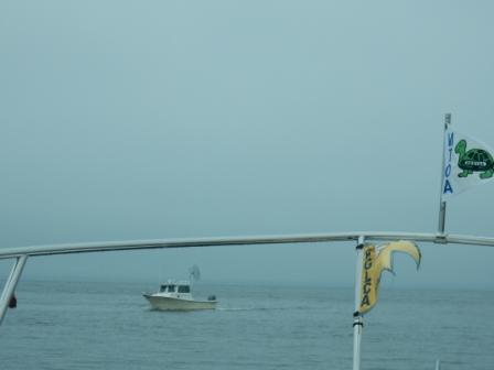 Foggy Raritan Bay