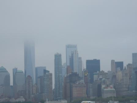 NYC in the clouds