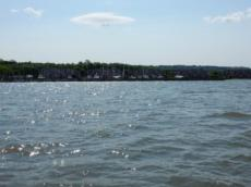Leaving Croton on Hudson