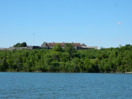Fort Ticonderoga from south anchorage area