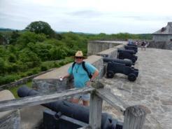 Mark at Fort Ticonderoga