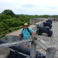 Mark at Fort Ticonderoga