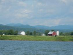 Lake Champlain farm