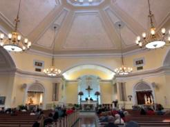 Inside Church of St. Clare