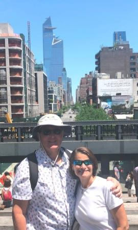 Us on the High Line