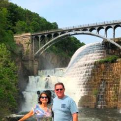 At New Croton Dam and Falls