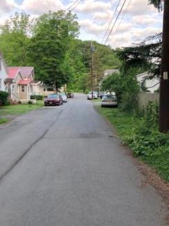Flatter road in neighborhood near RYB