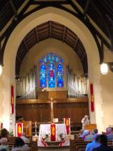 St. Patrick's alter